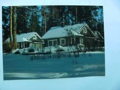 Finland Suomi Houses In The Snow Jyväskylä ? - Finland