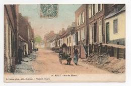 80 SOMME - AULT Rue Du Hamel, Voiture à Chien - Ault