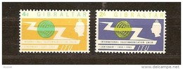 Gibraltar  1965  Yvertnr 165-66 Mi 169-170 *** MNH Cote 12,50 Euro - Gibraltar