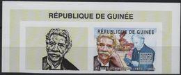 GUINEE Bf 2002 ** MNH Fragment Imperforated Albert SCHWEITZER NOBEL Peace Lambaréné Gabon Médecin FAMOUS PEOPLE (3) - Albert Schweitzer