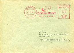 23905 Germany, Red Meter/freistempel/ema/nurnberg 1955 Lorenz Merkl, Kase Butter,butter Cheese,beurre Fromage - Alimentation
