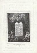 Doodsprentje Hendrica Josephina WEMDELEN Gewezene Huisvrouw G.J. Poorters) Zolder Overpelt 1847 Ouderdom 30 Jaren - Andachtsbilder
