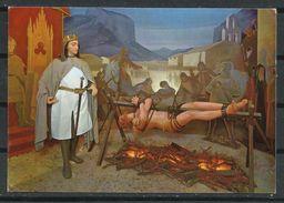 España_Benisalem_Museo Historial De Mallorca_Martirio De Cabrit Y Bassa, Defensores Del Castillo De Alaro (1285) - Museos