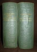 PETIT DICTIONNAIRE FRANCAIS ALLEMAND Franzosisch Deutsch Worterbuch Dictionary CHARLES SCHMITT 2 Volumes 1940 ! - Dictionnaires