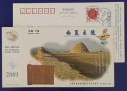 Bamboo Slips Of XiXia Empire From 1038 To 1227,Western Xia Dynasty Imperial Tomb,CN01 Ningxia Hui Autonomous Region PSC - Archeologia