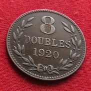 Guernsey 8 Doubles 1920 KM# 14 Lt 257 Guernesey - Guernesey