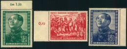 1951, Deutsch-Chinesische Freundschaft Komplett Postfrisch. - DDR