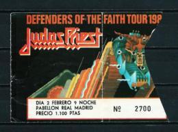 JUDAS PRIEST  (1984) - Concert Tickets
