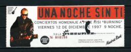 BURNING  (1997) - Entradas A Conciertos