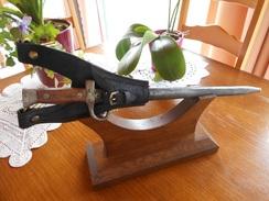 """Baïonnette Berthier St Etienne """"Même N°"""" H17649 Et Son Porte Fourreau. - Knives/Swords"""