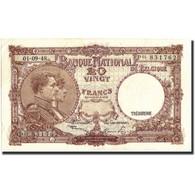 Belgique, 20 Francs, 1948, KM:116, 1948-09-01, TTB - [ 6] Treasury