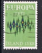 Iceland SG493 1972 Europa 13k Good/fine Used [13/13855/6D] - Used Stamps