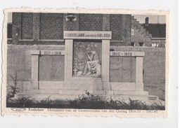 Koekelare - Monument Gesneuvelden Oorlog 1914-18 1940-45  - Uitg Alb. Devreker - Koekelare