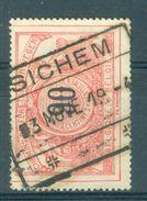"""BELGIE - OBP  TR 25 - Cachet  """"SICHEM"""" - (ref. 14.029) - Chemins De Fer"""