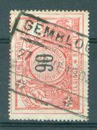 """BELGIE - OBP  TR 25 - Cachet  """"GEMBLOUX"""" - (ref. 14.050) - Chemins De Fer"""