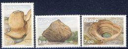 #Åland 1995. Geology. Michel 92-94. MNH(**) - Aland