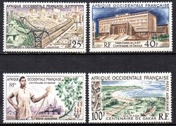 Col 4/ AOF Afrique PA  N° 24 à 27 Neuf X MH Cote 10,50€ - A.O.F. (1934-1959)
