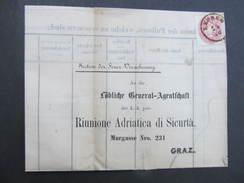 BRIEF Leoben - Graz 1866////  D*26585 - 1850-1918 Imperium