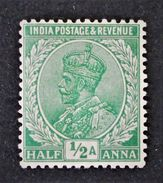 EFFIGIE DE GEORGE V 1911/26 - NEUF ** - YT 76 - Indien (...-1947)