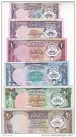KUWAIT 1/4 1/2 1 5 10 20 DINAR 1980 1991 P-11 12 13 14 15 16 UNC 3RD ISSUE SET */* - Kuwait