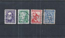 NederlandPayBas 220-23 O (NVPH 13 EUR) JaarAnnée 1928 - 1891-1948 (Wilhelmine)