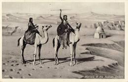 544 01 WARRIOR OF THE NUBIAN DESERT EGYPT EGYPTE - Egypte