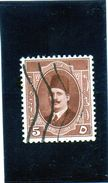 1923 Egitto - Re Fuad I - Used Stamps
