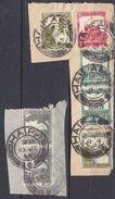 PETIT LOT AVEC FRAGEMENT ET CACHET D'HAIFAX -1945 - Palestine