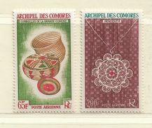 COMORES ( FRCOM - 34 )  1963  N° YVERT ET TELLIER   N° 8/9    N** - Airmail