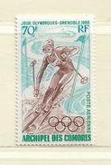 COMORES ( FRCOM - 36 )  1968  N° YVERT ET TELLIER   N° 22    N** - Airmail