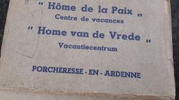 Porcheresse En Ardenne ( Daverdisse) - 10 CPA  Hôme De La Paix - Centre De Vacances - Ed. Arduenna à Marche En Famenne - Daverdisse