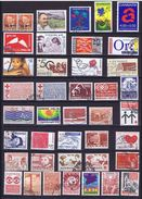 Denmark; 40 Different Used Charity Stamps (1 Pair) - Danemark