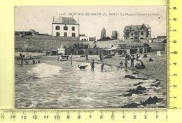 BOURG-DE-BATZ: La Plage à L'heure Du Bain - Batz-sur-Mer (Bourg De B.)