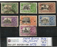 BRITISH EMPIRE:INDIA# COMMEMORATIVE #- SERIE(S) (SG120-1 (09) - 1911-35 Roi Georges V