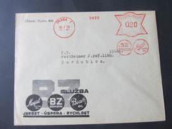BRIEF Praha 1 BZ Benzi 1933 Frankotype Freistempel Postfreistempel /// N1617 - Briefe U. Dokumente