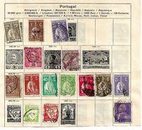 0620y: Lot Portugal (aus Schaubeck- Falzalbum, Falze Können Einfach Entfernt Werden) - Portugal