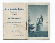 """Petit CALENDRIER 1950..  ALMANACH.. """"A La Nouvelle France"""" Tissus, M. DUPREY à CAEN (14) - Calendriers"""