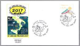 13 GIRO DEI TRE MARI - VUELTA DE LOS TRES MARES - Motos. Cefalu 2017 - Moto