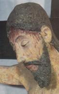 "Kruzifix 12. Jh. ""Schwedenkapelle"" Saulgau .  7.5 X12cm - Tableaux, Vitraux Et Statues"