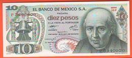 Mexico Diez 10 Pesos  1977 - Messico