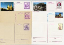AUSTRIA 1975-97 Seventeen Stationery Cards. Unused - Stamped Stationery