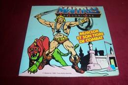 MAITRES DE L' UNIVERS  LIVRE DISQUE  °° MUSCLOR ET SON TIGRE DE COMBAT - Soundtracks, Film Music