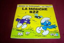 HISTOIRE DE SCHTROUMPFS   LIVRE DISQUE  °° LA MOUCHE BZZ - Soundtracks, Film Music