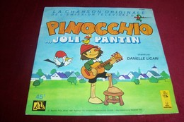 LA CHANSON ORIGINALE DE L'EMISSION TELEVISEE  D'ANTENNE 2  ° PINOCCHIO JOLIE PANTIN  PAR DANIELLE LICARI - Soundtracks, Film Music