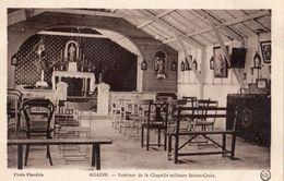 AGADIR INTERIEUR DE LA CHAPELLE MILITAIRE SAINTE-CROIX - Agadir