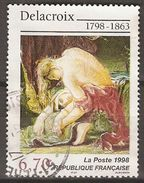 FRANCE   -   1998.    Y&T N° 3147 Oblitéré.    DELACROIX - Frankreich