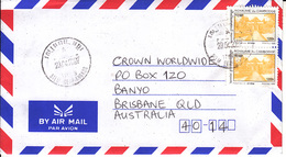 Cambodia Airmail Cover To Australia    (X-424A) - Cambodja