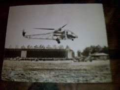 Photographie Helicoptere Experimental Se 3101  Societe Nationale De Construction Aeronotique Du Sud Ouest - Hélicoptères