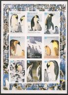 Niger - 1998 - N°Yv. 1079 à 1087 - Manchots - Non Dentelé / Imperf. - Neuf Luxe ** / MNH / Postfrisch - Penguins