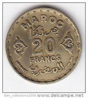 MAROC MOHAMMED V   20  FRANCS   DATE AH1371(a)    LOT100342 - Maroc